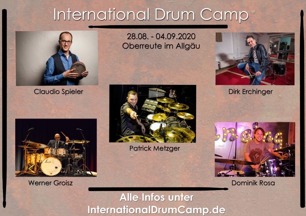 Allgäu 2020: International Drum Camp